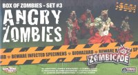 Zombicide Box of Zombies Set 3: Angry Zombies