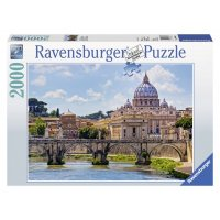 Puzzle Podul Sant Angelo, 2000 Piese