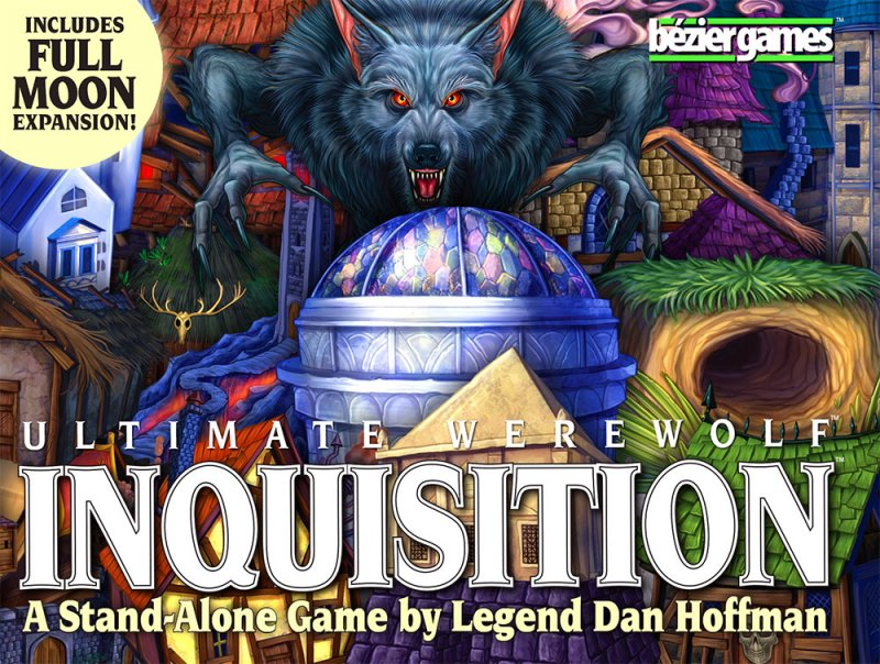 Ultimate Werewolf: Inquisition (2016 English Second Edition) - Click pe Imagine pentru a Inchide
