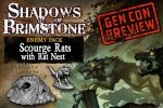 Shadows of Brimstone: Scourge Rats / Rats Nest Enemy Set