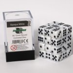Dice Cube - 12mm D6 36 Dice Set - Opaque White