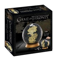 4D Cityscape Game of Thrones 3D Globe Puzzle, 6""
