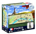 4D Cityscape Paris Mini Puzzle