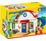 Playmobil 1.2.3 Casa din suburbie - PM6784