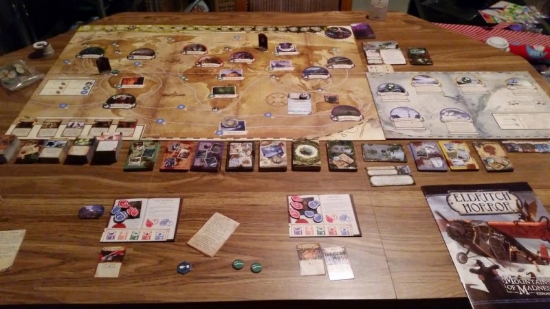 Eldritch Horror: Mountains of Madness - Click pe Imagine pentru a Inchide