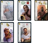 7 Wonders Promo Pack: Louis, Stevie, Will, Esteban, Nimrod