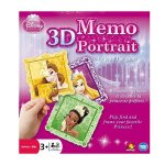 Disney Princess - 3D Memo Portrait