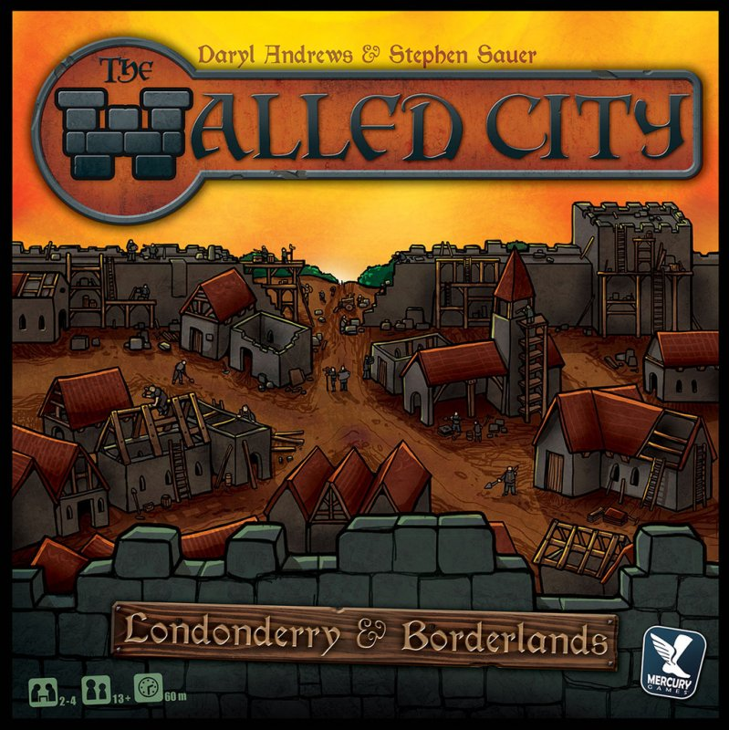 The Walled City + Mini Expansion: Borderlands - Click pe Imagine pentru a Inchide