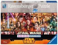 Puzzle Star Wars Episode I-VI, 1000 Piese