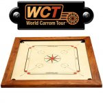 World Carrom Tour Champion 77 x 77 cm