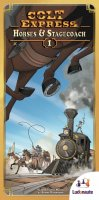 Colt Express: Horses & Stagecoach (French Edition)