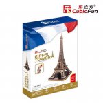 Puzzle 3D Turnul Eiffel, 82 piese
