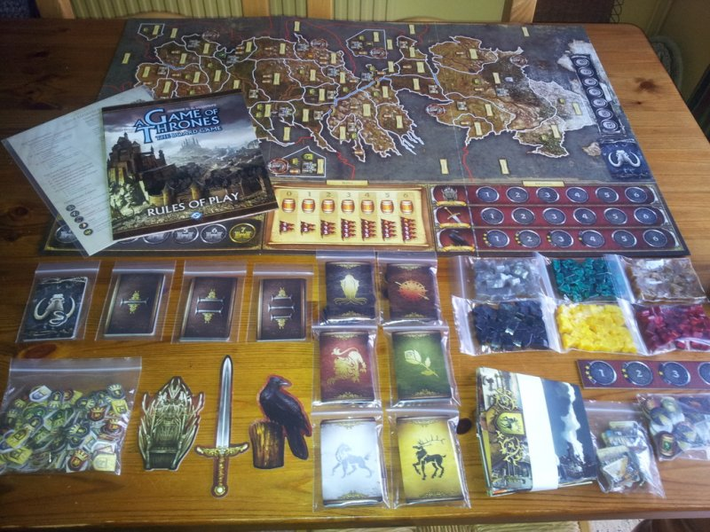 A Game of Thrones: The Board Game (Second Edition) - Click pe Imagine pentru a Inchide