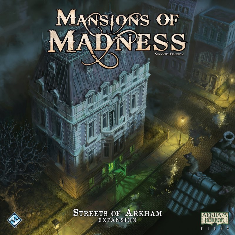 Mansions of Madness: Second Edition – Streets of Arkham - Click pe Imagine pentru a Inchide