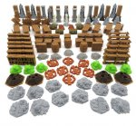 Gloomhaven: Jaws of the Lion: Full Scenery Pack - 114 pieces
