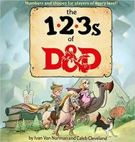 123s of D&D (Dungeons & Dragons Children's Book)