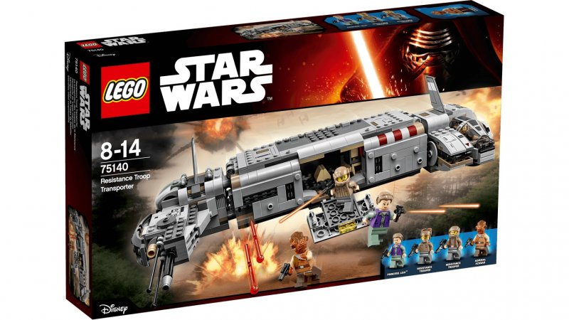 Nava de transport a trupelor de rezis - LEGO® Star Wars™ - 75140 - Click pe Imagine pentru a Inchide