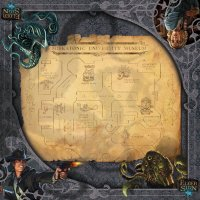 Playmat Elder Sign: Museum Gamemat