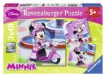 Puzzle Minnie Mouse, 3X49 Piese