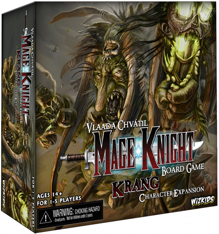 Mage Knight: Krang Character Expansion - Click pe Imagine pentru a Inchide