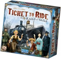 Ticket to Ride: Rails & Sails (2016 English Edition)