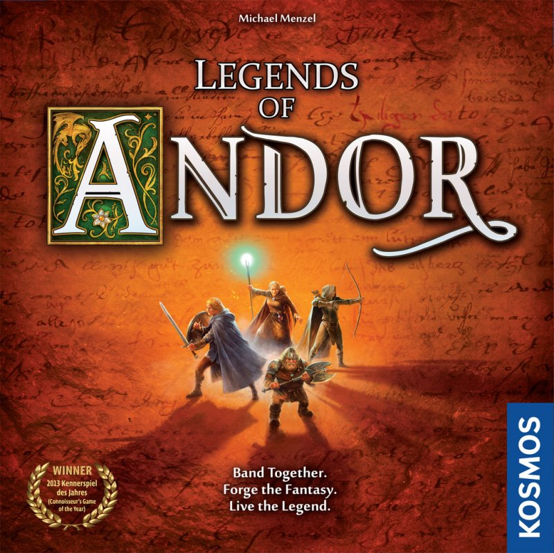 Legends of Andor (2015 English Second Edition) - Click pe Imagine pentru a Inchide