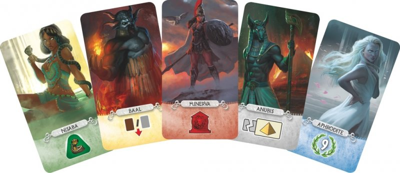 7 Wonders: Duel – Pantheon (English Edition) - Click pe Imagine pentru a Inchide