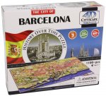 4D Cityscape The City of Barcelona Puzzle