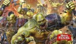 Blackfire Playmat - Hero Realms Orks - Ultrafine 2mm
