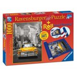 Puzzle New York taxi + Suport de Puzzle, 1000 Piese
