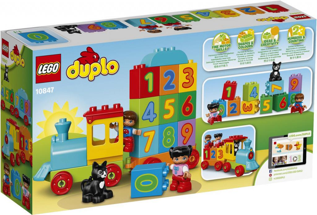 My First Number Train - LEGO® DUPLO - 10847