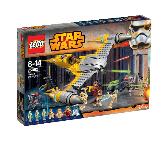 Naboo Starfighter™ - LEGO® Star Wars™
