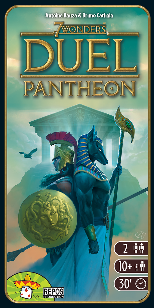 7 Wonders: Duel – Pantheon (English Edition)