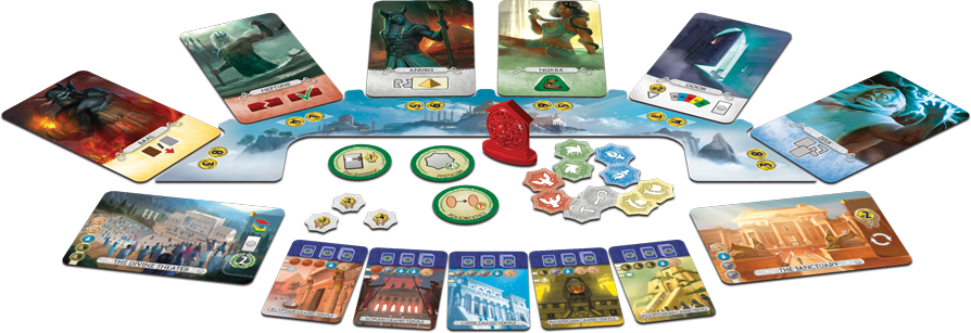 7 Wonders: Duel – Pantheon (French Edition)