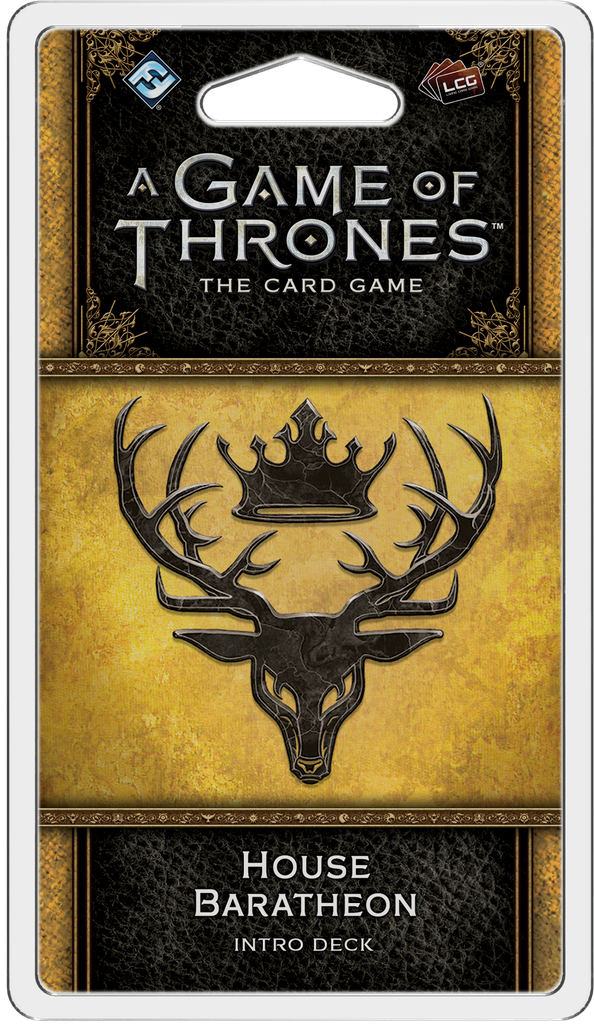 A Game of Thrones: The Card Game 2nd Ed – House Baratheon