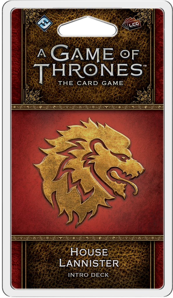 A Game of Thrones: The Card Game 2nd Ed – House Lannister