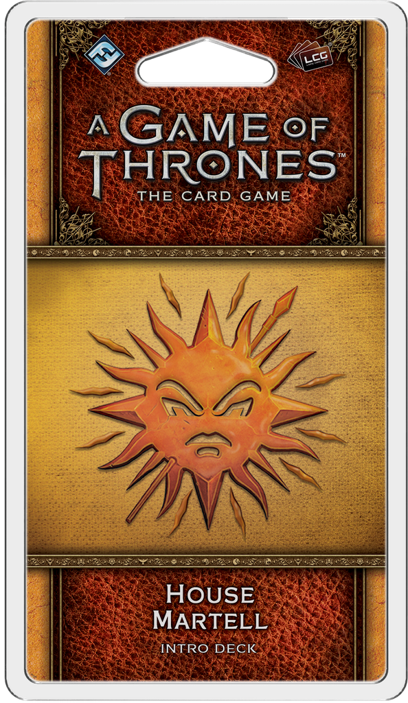 A Game of Thrones: The Card Game 2nd Ed – House Martell