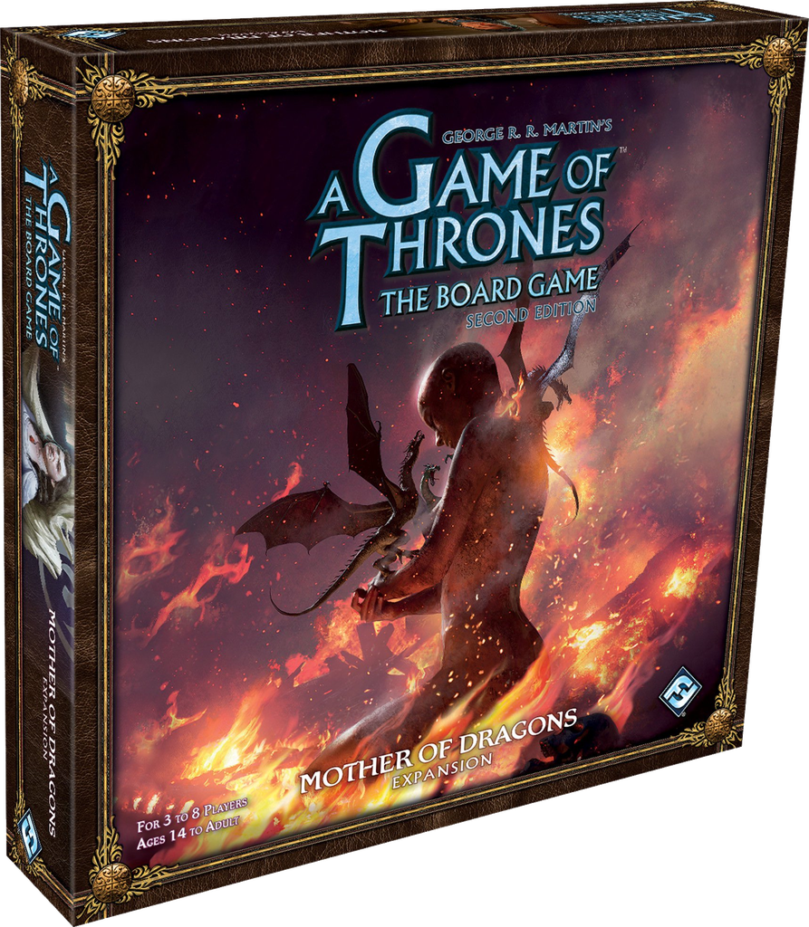 A Game of Thrones: The Board Game(2nd Ed) – Mother of Dragons