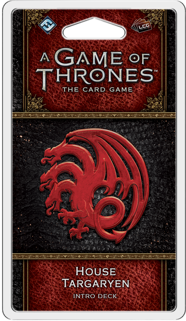A Game of Thrones: The Card Game 2nd Ed – House Targaryen