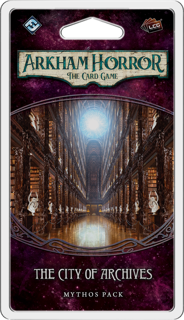 Arkham Horror: The Card Game – The City of Archives