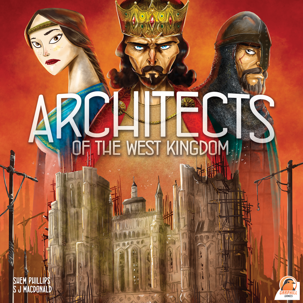 Architects of the West Kingdom (2018 Coin Kickstarter Edition)