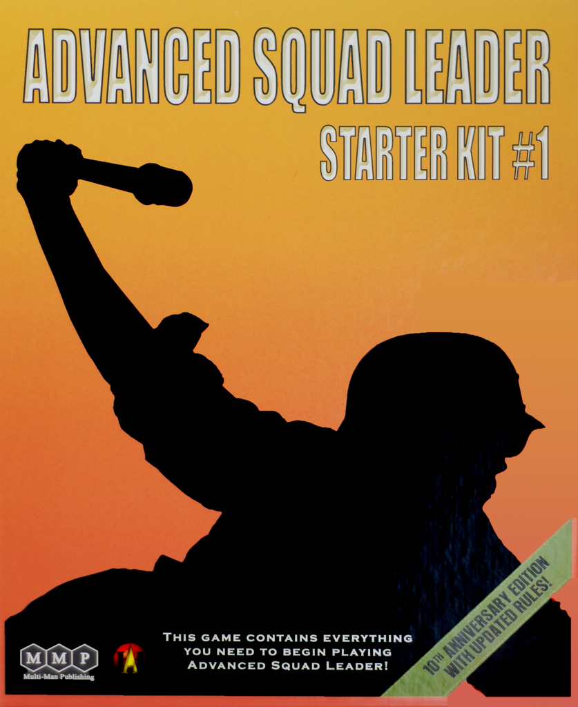 Advanced Squad Leader: Starter Kit #1- 10th Anniversary Edition