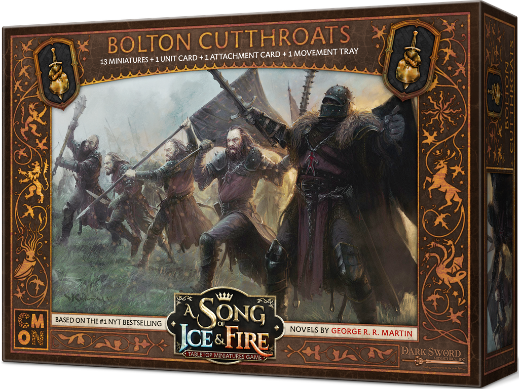 A Song of Ice & Fire:Tabletop Miniatures Game:Bolton Cutthroats