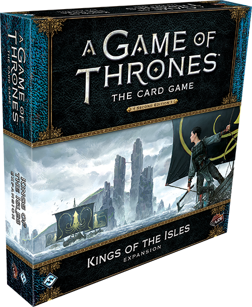 A Game of Thrones:The Card Game 2nd Ed – Kings of the Isles