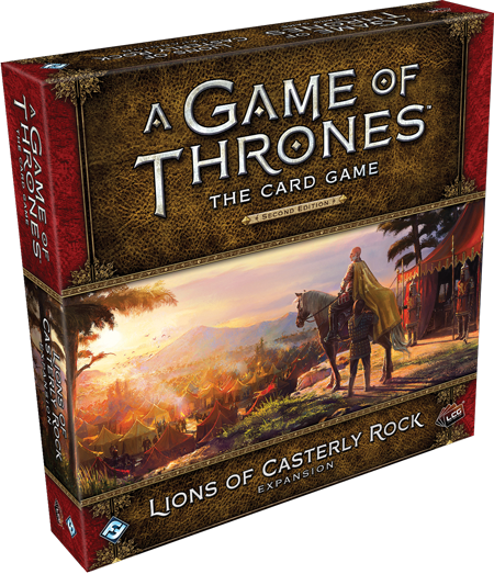 A Game of Thrones: The Card Game 2nd Ed – Lions of Casterly Rock