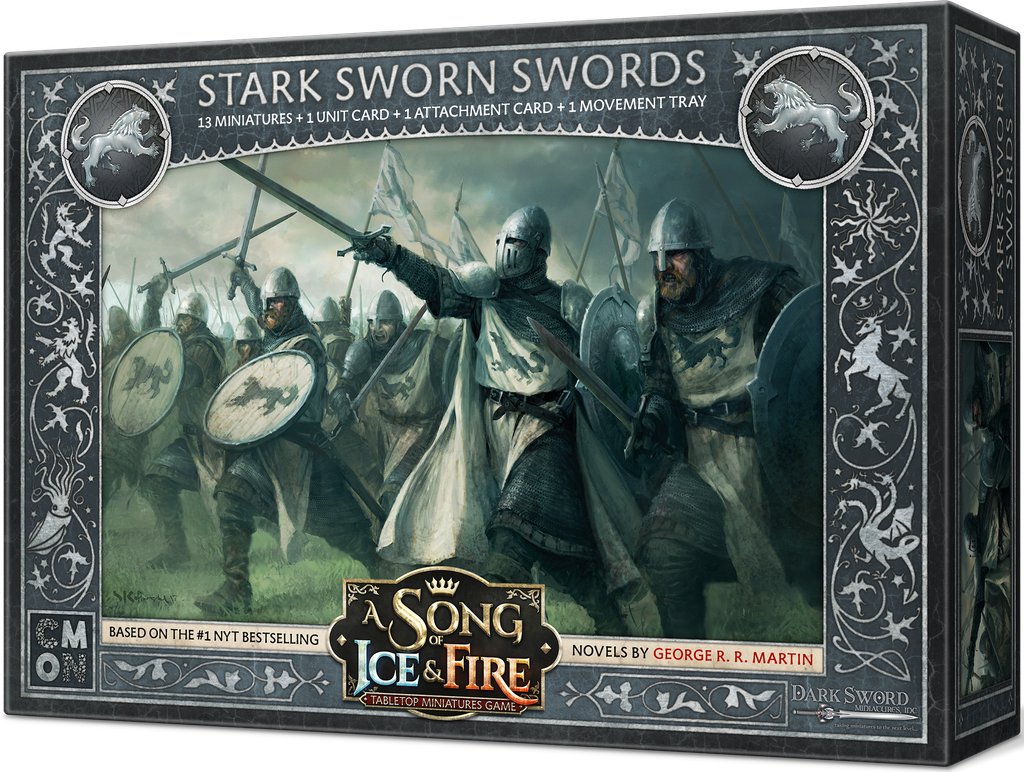 A Song of Ice & Fire: Miniatures Game: Stark Sworn Swords