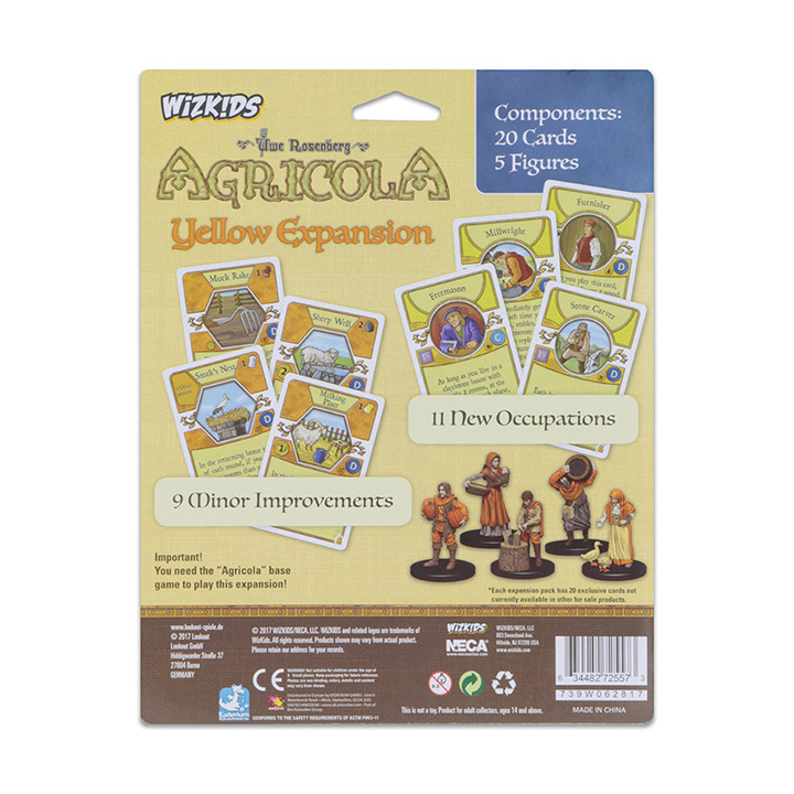Agricola Game Expansion: Yellow - Click pe Imagine pentru a Inchide