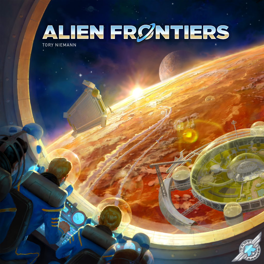 Alien Frontiers (2017 English Fifth Edition 1st Printing)