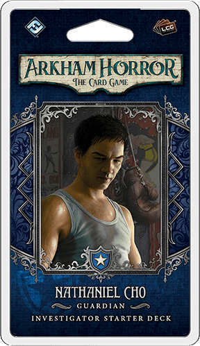 Arkham Horror: The Card Game – Nathaniel Cho: Investigator Start