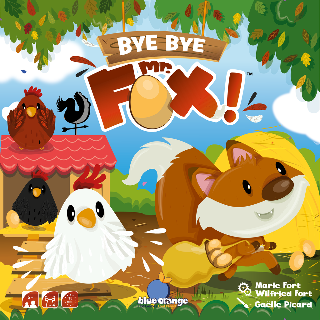 Bye Bye Mr. Fox! (Multilingual Edition)